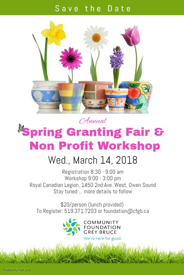 Spring Granting Workshop