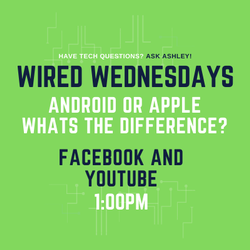 Wired Wednesdays Live: Android or Apple: What's the Difference? (Video)