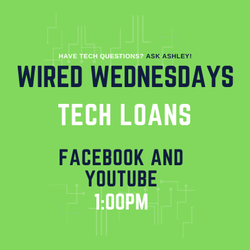 Wired Wednesdays Live: Tech Loans (Video)