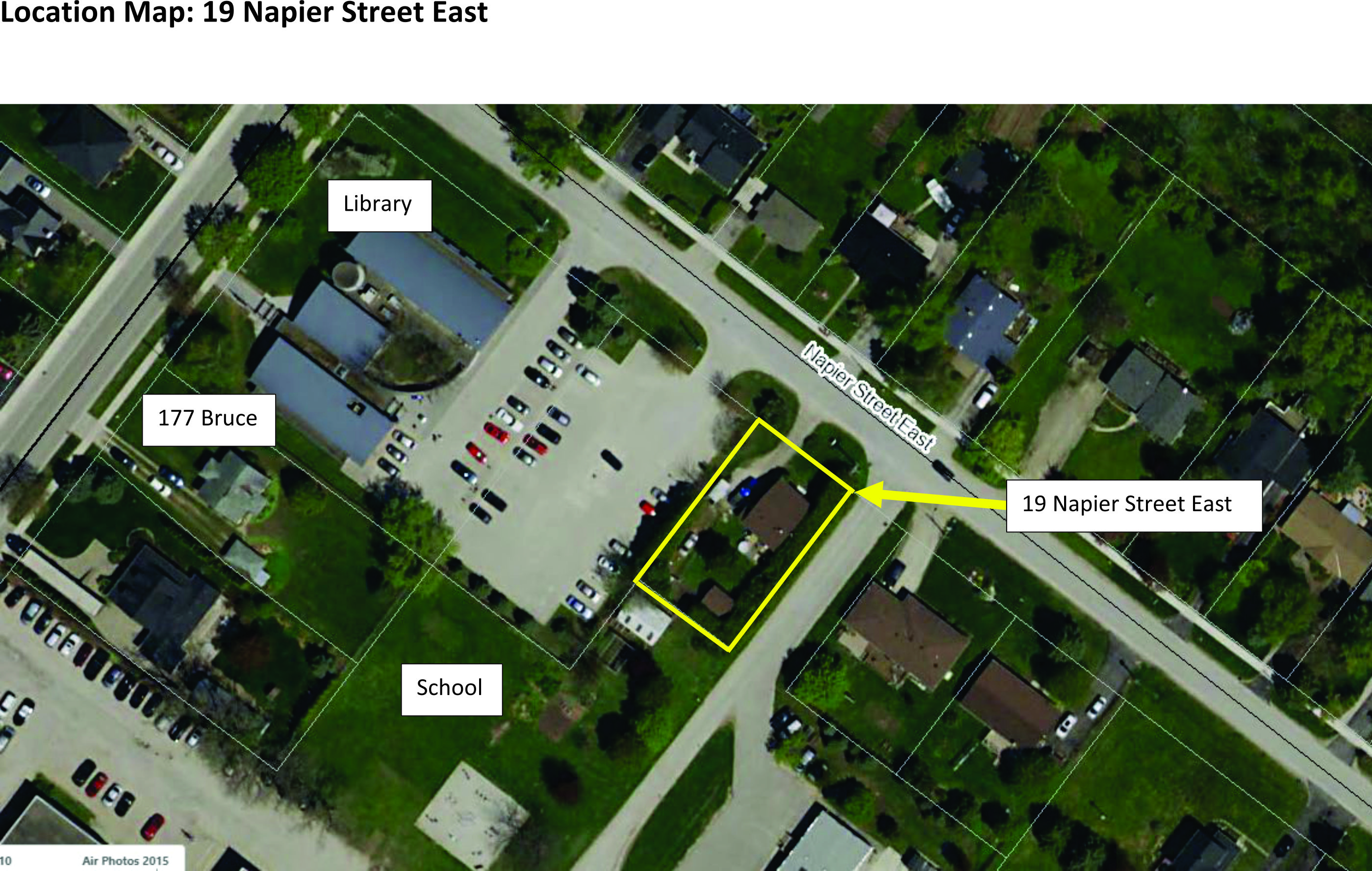 Town proposes to Purchase 19 Napier Street E, Thornbury
