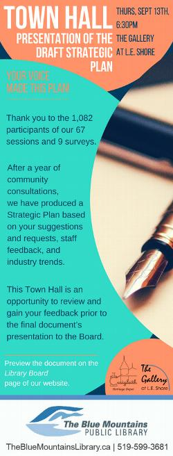 Community Consultation  for the Blue Mountains Library - Thurs Sept 13
