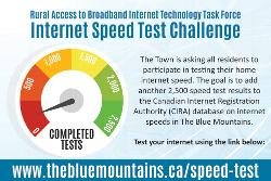 Town Launches Internet Speed Test Challenge