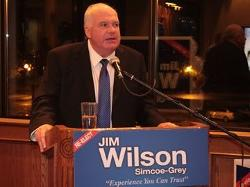 Jim Wilson, Minister of Economic Development, Job Creation and Trade for Ontario