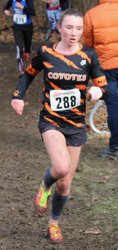 Solid Performances for Georgian Bat Coyotes Track Club  at AO XC Champs